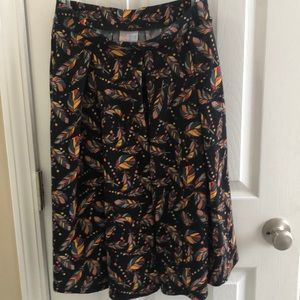 Lularoe skirt with pockets